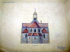Church of All Hallows - Bristol - East Elevation - Drawings - 1899