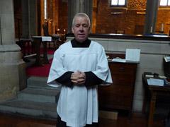 Mr Clive Cains - Sacristan